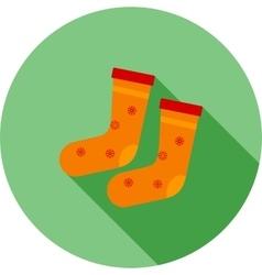 Socks Winter vector