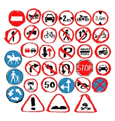 001traffic vector image