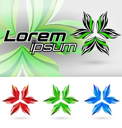 Abstract element form vector image
