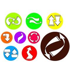 arrow icon 02 vector image