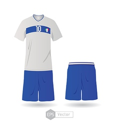 Italy team uniform 01 vector
