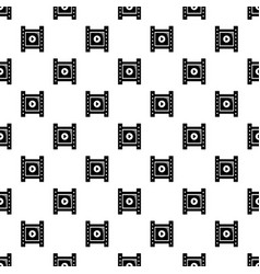 play film strip pattern seamless vector image