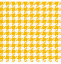 seamless checkered tablecloth traditional gingham vector image