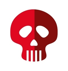 Skull icon Dead design graphic vector image