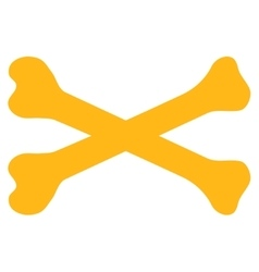 Bones icon vector
