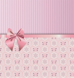 Rose Quartz flower seamless pattern Decorated with vector image vector image