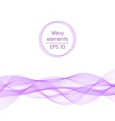 Abstract bright color wave vector