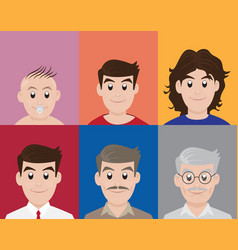 Different generation age vector