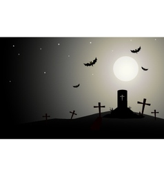Horror Halloween Background vector