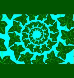ivy leaf - background vector image