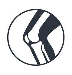 Knee icon vector