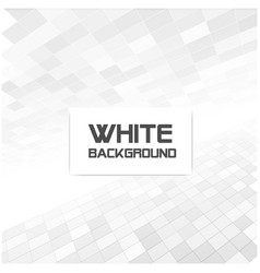 white and gray square background image vector image