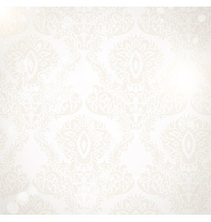 White Floral Background vector