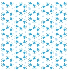 Star of David Seamless Pattern vector image vector image