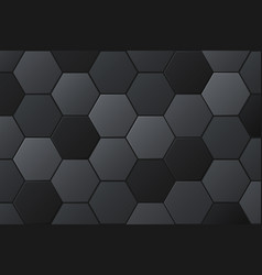 abstract hexagonal background futuristic vector image