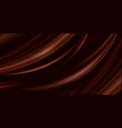 Abstract luxury brown background cloth vector