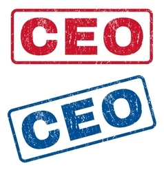 Ceo Rubber Stamps vector