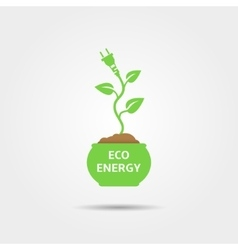 Eco Energy Design vector image
