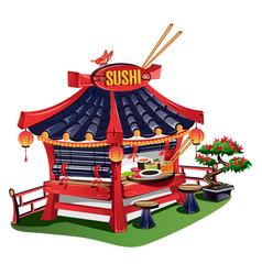 Sushi bar vector