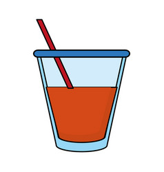 Tea beverage icon image vector
