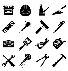sixteen industrial construction engineering vector image