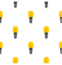 small incandescent lamp pattern seamless vector image vector image