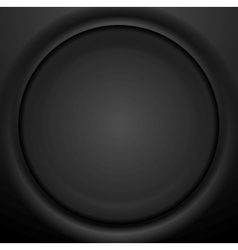 Abstract black soft circle background vector