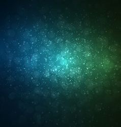 Abstract space background night sky vector