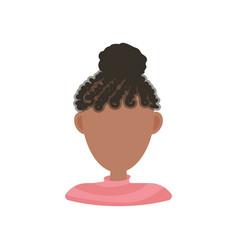 afroamerican woman vector image