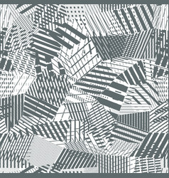 Concept low-poly seamless pattern vector