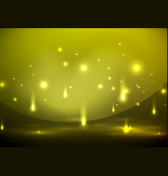 Falling lights in darkness vector