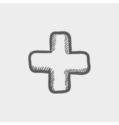 High volume sketch icon vector