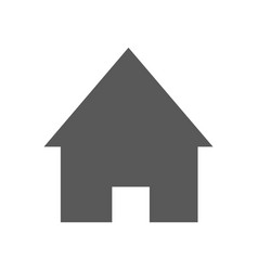 home icon simple vector image