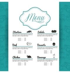 Menu restaurant kitchen icon graphic vector