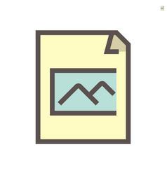 photo file document icon design 48x48 pixel vector image