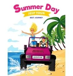 Summer holidays design concept vector