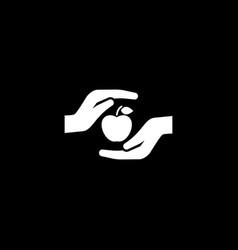 health care icon flat design vector image vector image