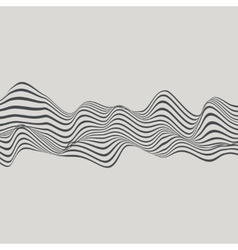 Abstract with Wavy Lines vector image