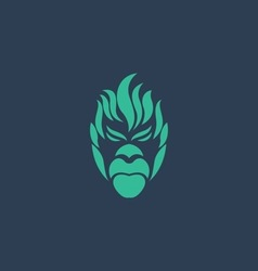 ape logo vector image