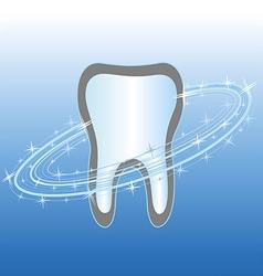 Dental health care symbol icon vector