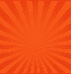 Rays background orange or red vector