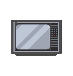 retro tv television receiver vector image