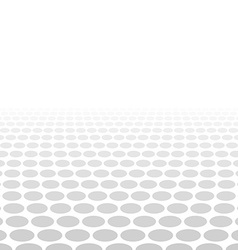Grey white 3d circle background vector