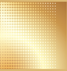 gold halftone cover brochure template vector image vector image