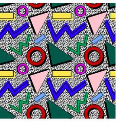 80th memphis pattern vector image
