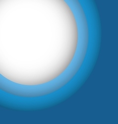 Abstract blue background with copy space vector image vector image