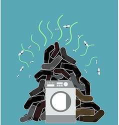 sock amp pile vector images 52
