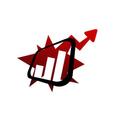 Boost online marketing business vector