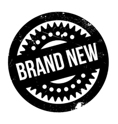 Brand New rubber stamp vector image
