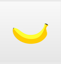color banana fruit icon modern simple flat vegeta vector image